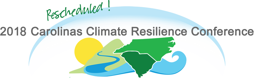 Carolinas Climate Resilience Conference October 29 31 2018